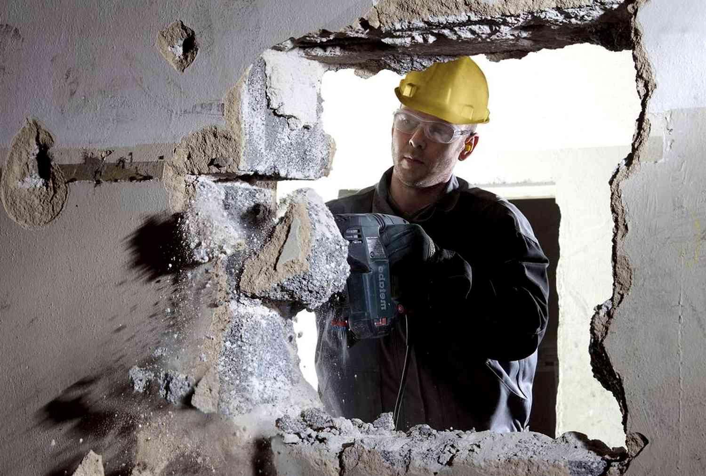 Демонтаж бетона разными способами